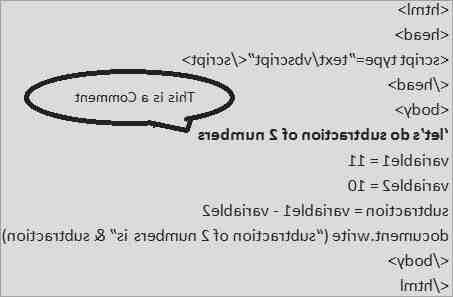 Comment programmer en VBScript