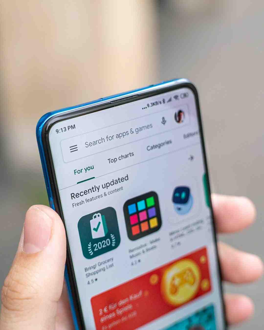 Comment configurer le compte Play Store ?