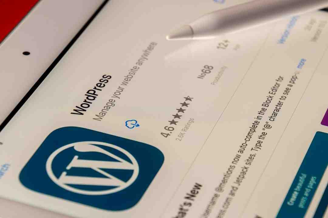 Wordpress comment mettre à jour php